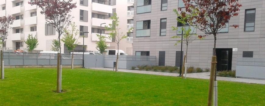 Qué hacer cuando la constructora cede las zonas comunes a la vecindad
